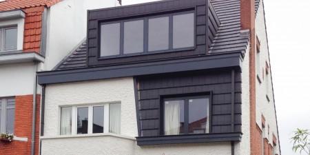 Transformation de toiture à Woluwe-Saint-Pierre réalisée par Chantiers Kuypers SPRL