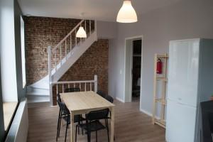 Rénovation complète d'une maison réalisée par Chantiers Kuypers SPRL